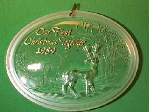 1989 1st Christmas Together - Acrylic