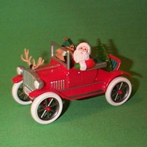 1991 Here Comes Santa #13 - Antique Car