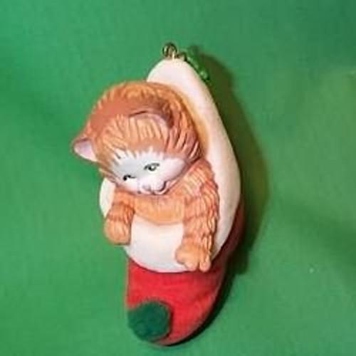 1989 Stocking Kitten