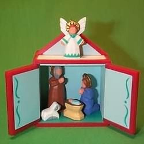 1989 Miniature Creche #5F