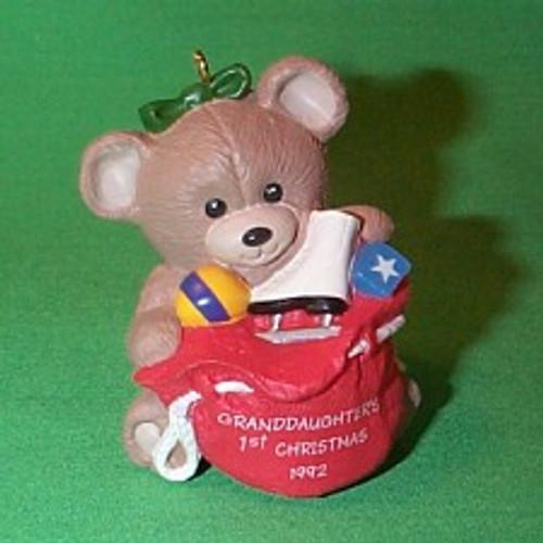 1992 Granddaughter 1st Christmas