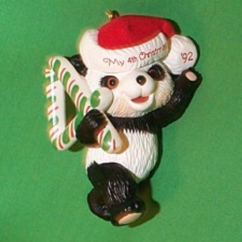 1992 Childs 4th Christmas - Bear