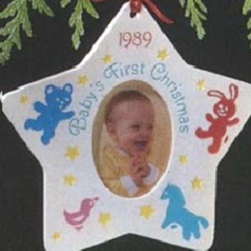 1989 Babys 1st Christmas - Photo