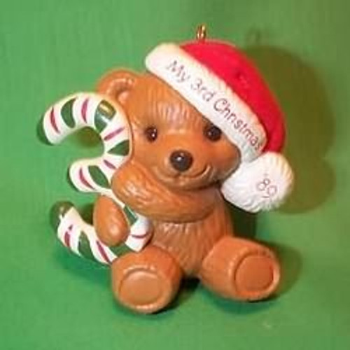 1989 Childs 3rd Christmas - Bear