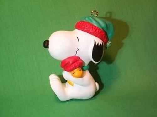 1990 Snoopy And Woodstock - Hug