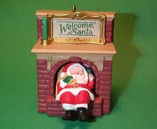 1990 Welcome Santa