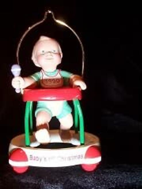 1990 Babys 1st Christmas - Walker
