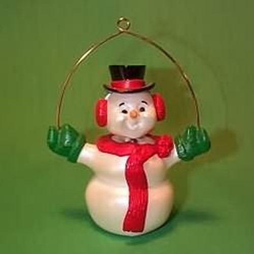 1989 Wiggly Snowman
