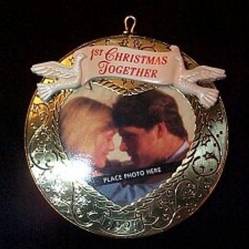 1991 1st Christmas Together - Photo
