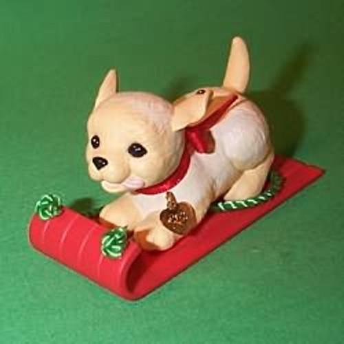 1993 Puppy Love #3 - Golden Retriever