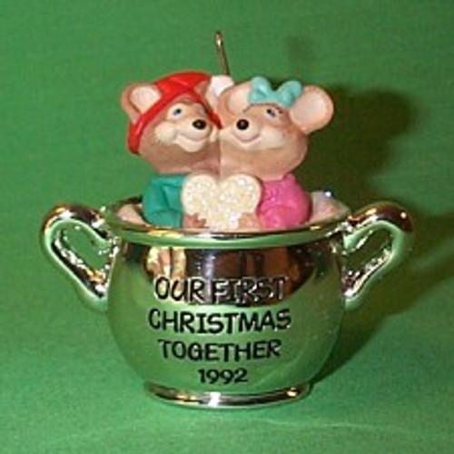 1992 1st Christmas Together - Teapot