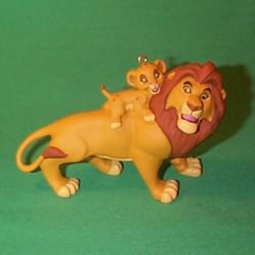 1994 Disney - Lion King - Mufasa And Simba