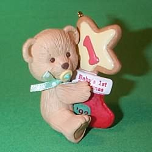 1993 Babys 1st Christmas - Bear