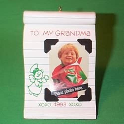 1993 To My Grandma