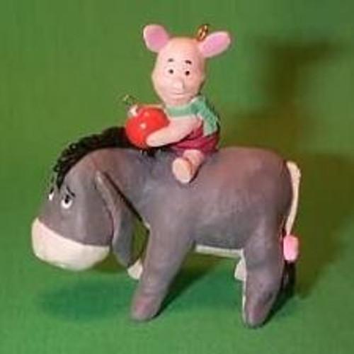 1991 Winnie The Pooh - Piglet And Eeyore