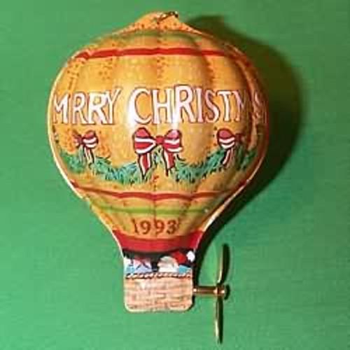 1993 Tin Hot Air Balloon