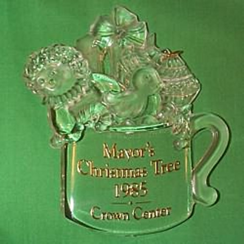 1985 Mayor's Tree Ornament