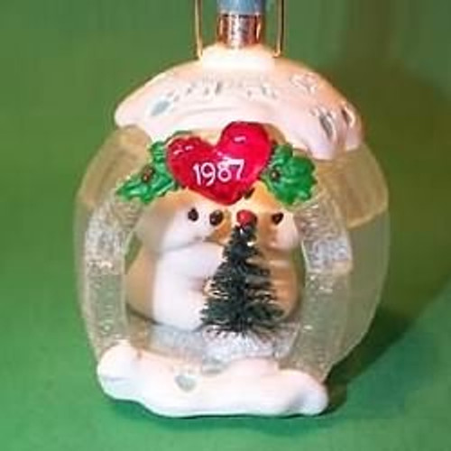 1987 1st Christmas Together - Lighted