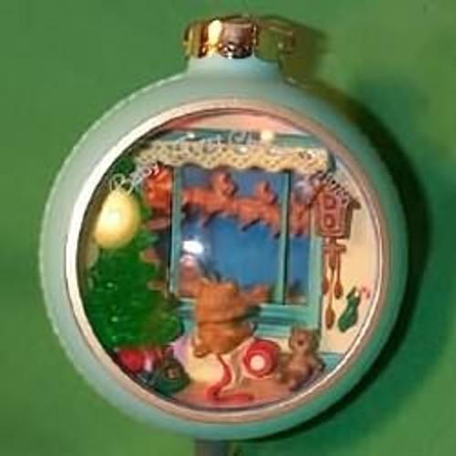 1986 Babys 1st Christmas - Lighted