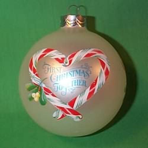 1983 1st Christmas Together - Ball