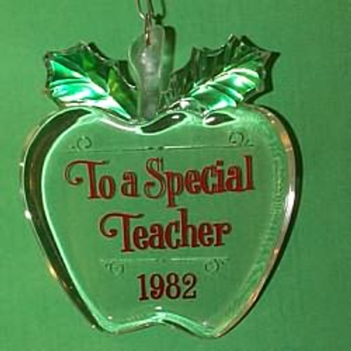 1982 Teacher - Apple
