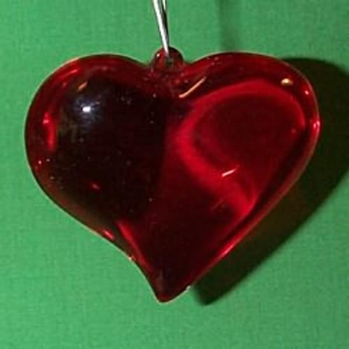 1983 Heart - Holiday Sculpture