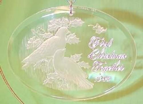 1984 1st Christmas Together - Acrylic