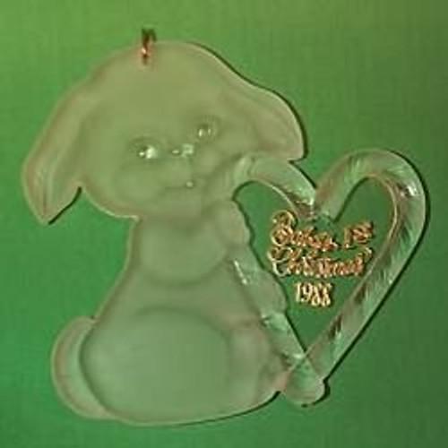 1988 Babys 1st Christmas - Acrylic