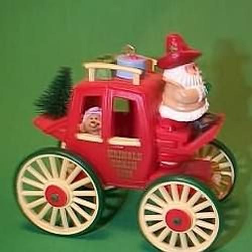 1988 Here Comes Santa #10 - Kringle Koach