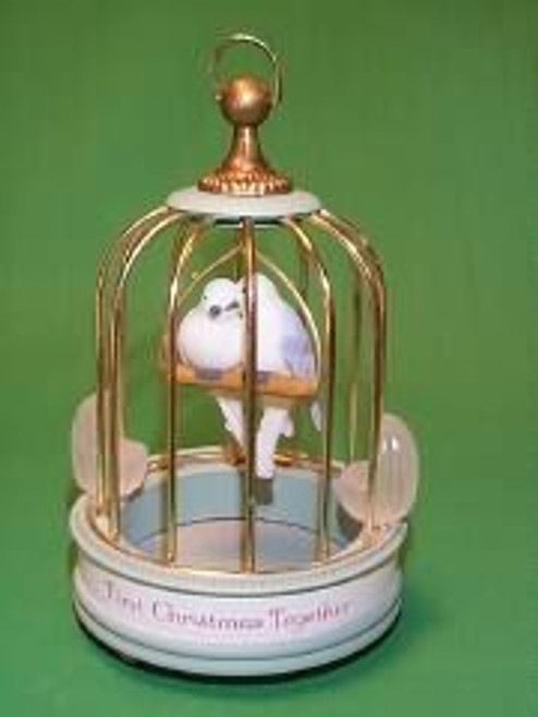 1986 1st Christmas Together - Lovebirds