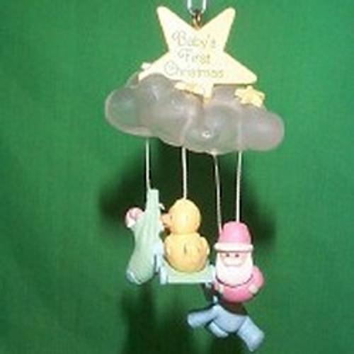 1986 Babys 1st Christmas - Mobile