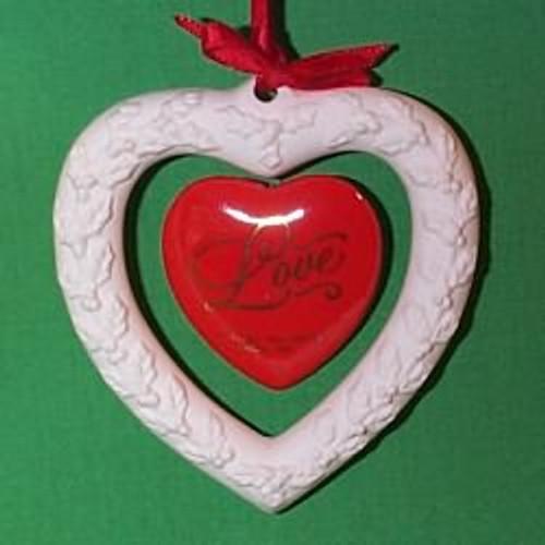 1983 Love - Red Porcelain