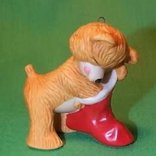 1987 Cinnamon Bear #5 - Stocking