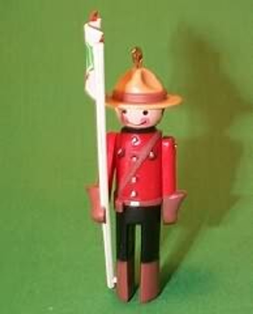 1984 Clothespin Soldier #3 - Canadian