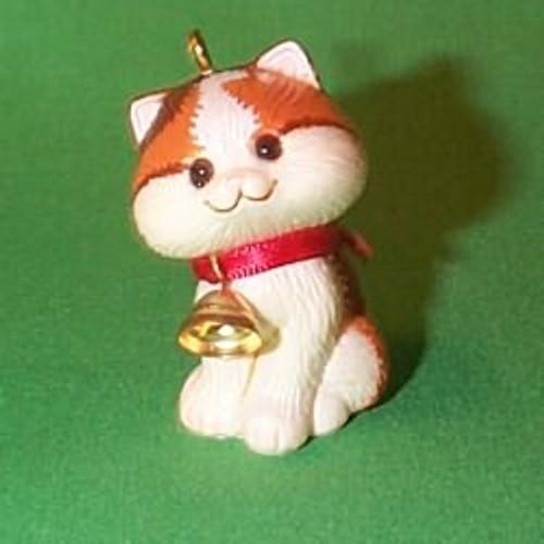 1982 Christmas Kitten - Little Trimmer