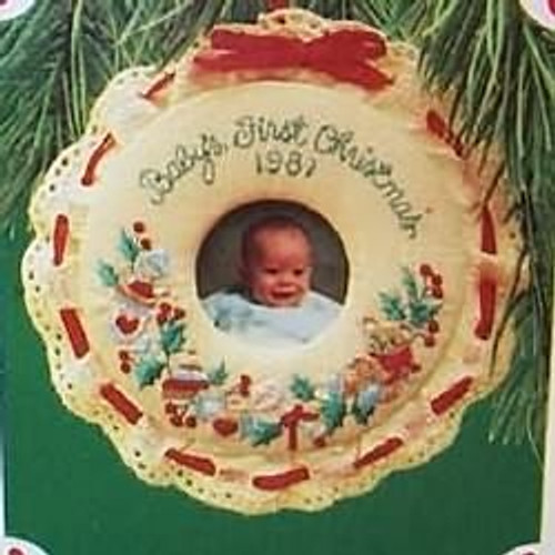 1987 Babys 1st Christmas - Photo