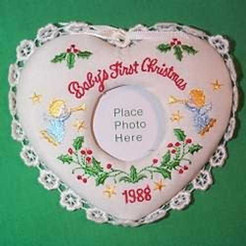 1988 Babys 1st Christmas - Photo