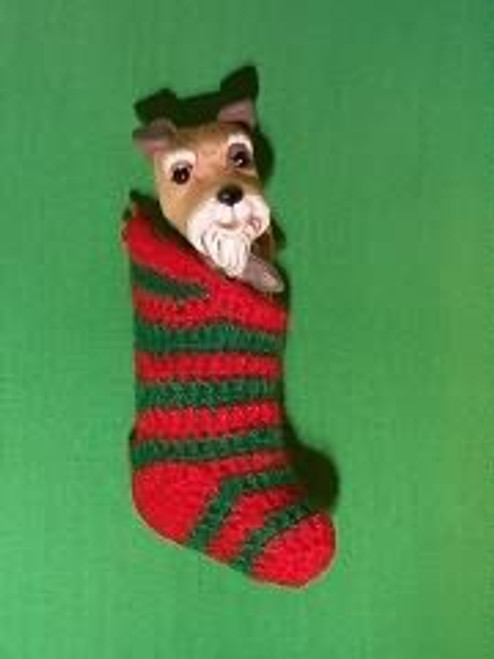 1985 Doggy In Stocking