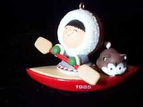 1985 Frosty Friends #6 - Kayak