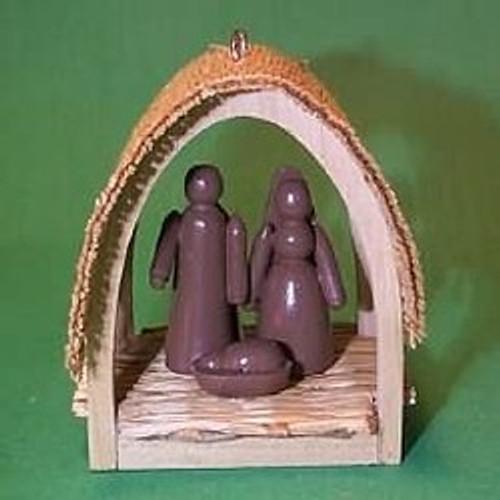 1985 Miniature Creche #1