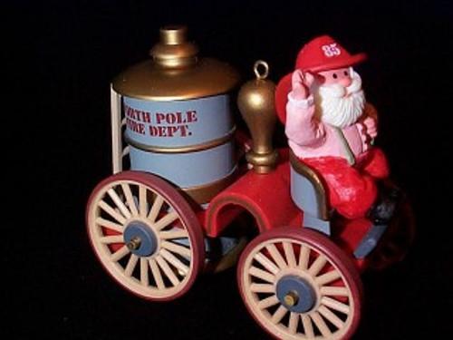 1985 Here Comes Santa #7 - Fire Engine