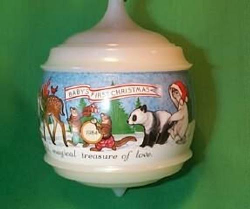 1984 Babys 1st Christmas - Musical