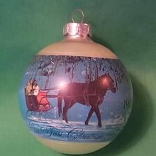 1980 1st Christmas Together - Ball