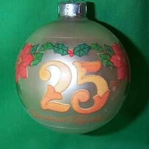 1980 25th Christmas Together - Bulb