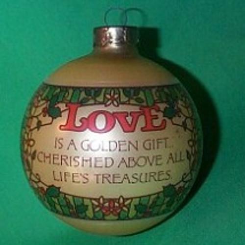 1977 Love - Ball