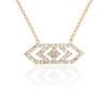 Gianna Medium Diamond  Pendant in 14K Yellow Gold