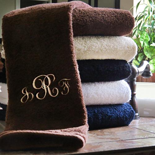 Monogrammed Millenium Towel Set