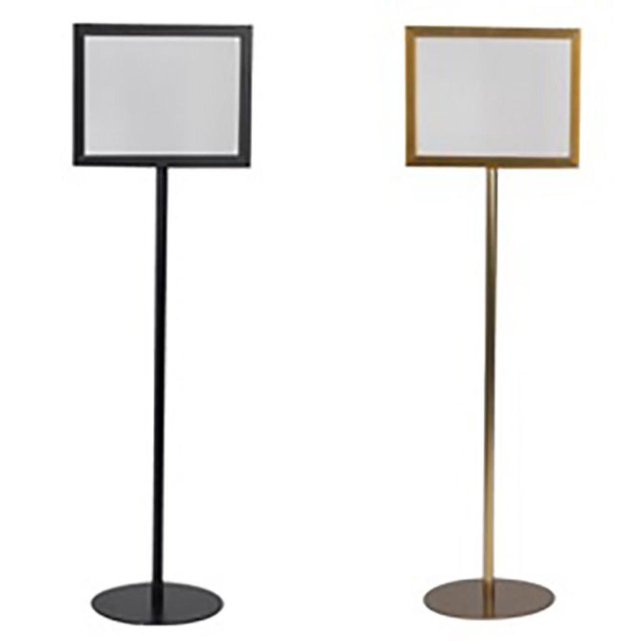 indoor pedestal base sign holder stop painting com