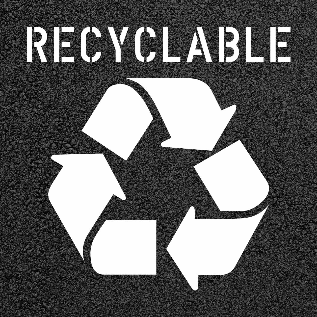 Recyclable Stencil 20 Insite Solutions Llc