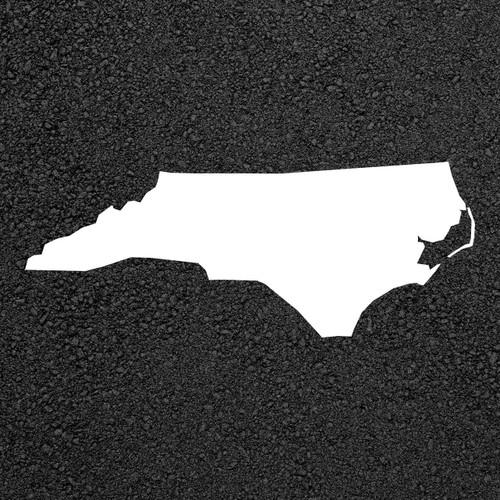 North Carolina State Map Stencil | Stop-Painting.com
